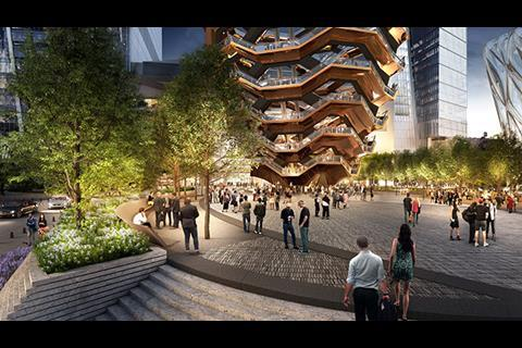 Special Events Plaza Hudson Yards New York